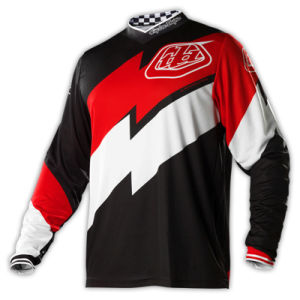 Black OEM Sublimation Customized Motorcycle Racing Jersey (MAT42) pictures & photos