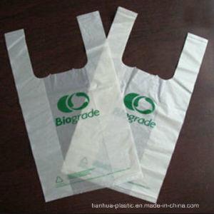 Biodegradable Plastic T-Shirt Shopping Bag, Vest Carrier Bag