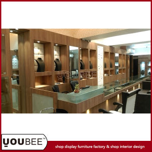Wooden Display Showcases/Cabinets for Jewelry Retail Shop Interior Design pictures & photos