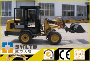 Swltd Brand 800kg Rate Lifting Power Mini Wheel Loader pictures & photos