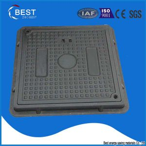 SMC Composite Manhole Cover with Lockable System pictures & photos
