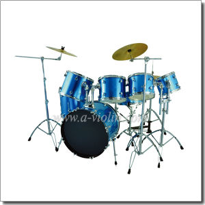 7PCS PVC Jazz Drum Set/Popular Drum Kit (DSET-310) pictures & photos