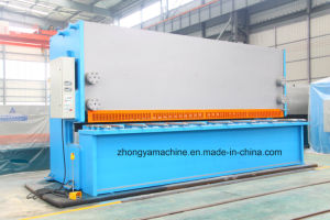 Hydraulic Guillotine Shear Plate Cutting Machine QC11y-20/6000 pictures & photos