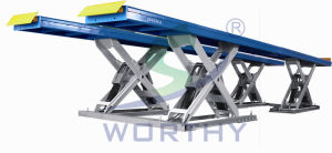Automatic and Synchronized Heavy Duty Vehicle Scissor Lift pictures & photos