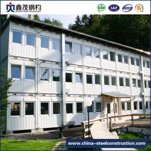 Sandwich Panel Prefab Container House for Worker Camp pictures & photos