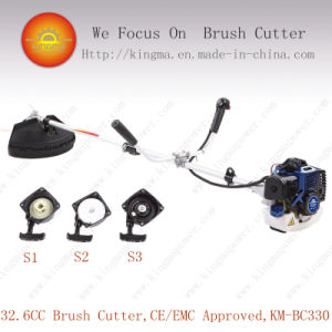 32.6cc Side-Attached Bc330 Brush Cutter with 1e36f Engine