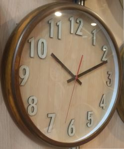 Wall Clock Y2016 New Wood Clock