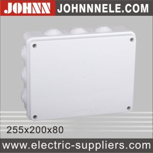 Plastic Box Electrical Junction Box 255X200X80 pictures & photos