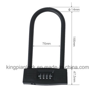 Long Shackle Code Combination Lock for Bike and Door pictures & photos