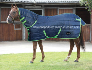 New Model 420d Quilted Horse Rug, Horse Blankets with Cotton, Combo Horse Rug pictures & photos