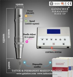 Goochie High Quality Permanent Makeup Machine Tattoo Kits Rotary pictures & photos