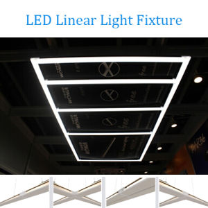 Dlc 0-10V LED Linear Office Light Dali Zigbee Commercial Lighting with Joint Free pictures & photos
