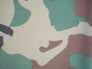 Polycotton Camouflage Printed Fabric T/C 20*20 108*58