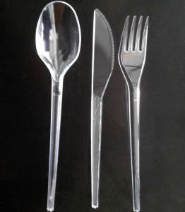 Individual Package PS Plastic Cutlery Set pictures & photos