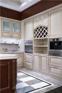 2015welbom Ashtree Solid Wood White Kitchen Furniture pictures & photos