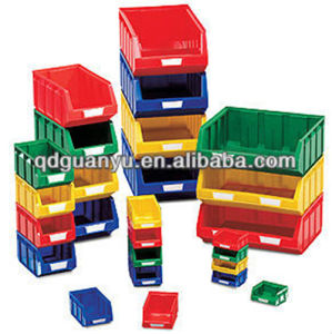 Stack Plastic Storage Bin, Storage Box (PK003) pictures & photos