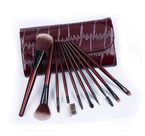 10PCS/Set High-Grade Brushes Classic Cosmetic Tools Fashionable Cosmetic Brush Color Shine Makeup Brushes