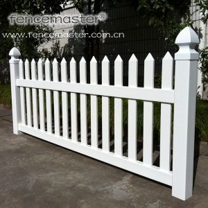 High Quality PVC Picket Fence pictures & photos