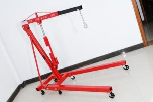 2 Ton Floding Shop Crane with CE Approval pictures & photos