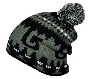 Fashion POM POM Acrylic Jacquard Knitting Knitted Hat pictures & photos