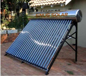 Integrative Copper Pipe Evacuated Tube Solar Hot Water pictures & photos