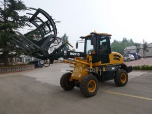 China 1.5 Ton Small Loader (HQ915) with Grass Fork pictures & photos