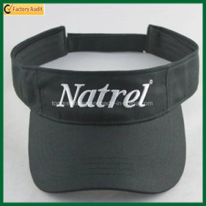 Fashion Promotional Polyester Cotton Twill Visor Hat (TP-0B025) pictures & photos