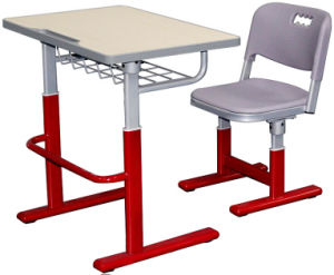 Modern Durable Metal School Chair in PE pictures & photos