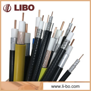 RG6 Coaxial Cable of PVC Jacket CCTV CATV pictures & photos