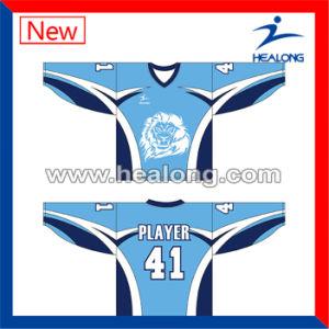 Healong Sublimation Digital Printing Custom Hockey Jerseys Equipment pictures & photos