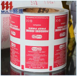 103GSM Aluminum Foil Paper for Alcohol Wipes pictures & photos