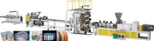 PVC Plastic Sheet Extrusion/Extruder Machine pictures & photos