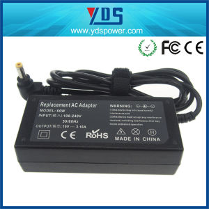 19V 3.16A AC DC Power Adapter with Ce RoHS for Toshiba pictures & photos
