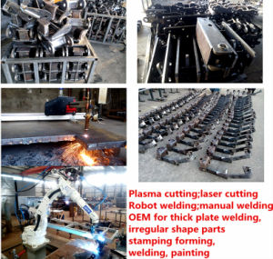 The Agricultural Machinery Parts Made of Thick Plate Weldments; AG Parts; Casting Parts pictures & photos