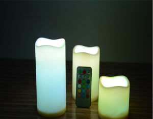 3 Inch Battery Operated LED Candles pictures & photos