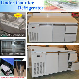Under Counter Refrigerator with Drawers pictures & photos
