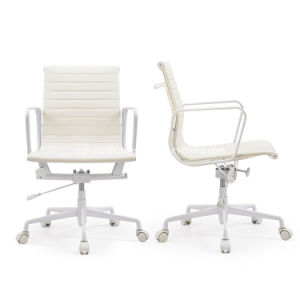 Limited Edition White Leather Eames Style Office Chair pictures & photos