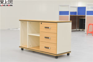 Low Mobile 3 Drawers Office Pedestal File (FC-08)
