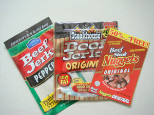 Beef Jerky Pouch/Snack Food Pouch