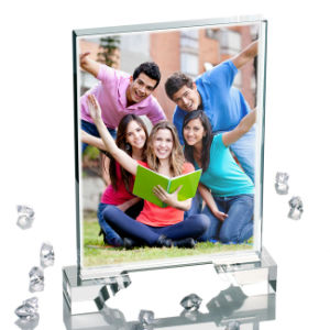 Factory Directly White Wholesale 3D Photo Sublimation Crystal pictures & photos
