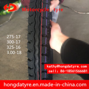 Hot Sale Wholesale Top Quality Chinese Tyre Motorcycle Tire Emark Certificate 275-17, 300-17, 325-16, 3.00-18 pictures & photos