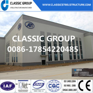 Prefaricated Light Steel Structure Frame Warehouse with Technical Guide pictures & photos