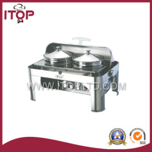 Stainless Steel Chafing Dish (HCD202) pictures & photos