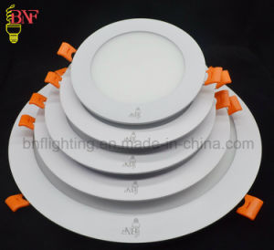 6W 12W 18W 24W Round LED Panel Light with pictures & photos
