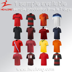 Sublimation Soccer Jersey Custom Soccer Shirt Sport Wear pictures & photos