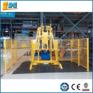 Mechanical Forklift Attachment Steel Stationary Pallet Inverter