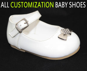 Newborn Little Kid Infant Baby Leather Baby Shoes UK
