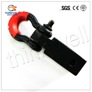 Solid Shank D-Ring Receiver Hitch with Shackle Isolator pictures & photos