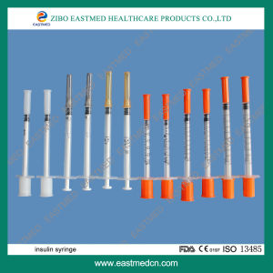 Disposable Insulin Syringe 0.3ml 0.5ml 1ml pictures & photos