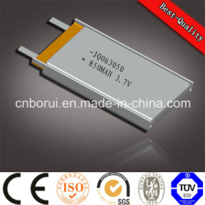 3.7V 400mAh Li-ion Battery Lithium Polymer Rechargeable Battery Good Quality OEM Battery for Blueteeth MP3 602040 pictures & photos